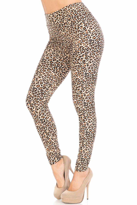 Buttery Soft Basic Leopard High Waist Leggings