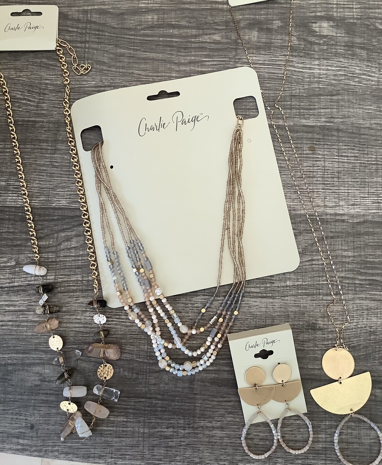 CP Tones of Blush Jewelry Asst