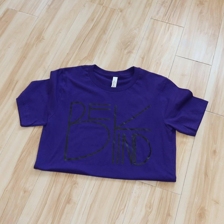 royal purple graphic tee