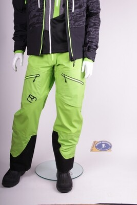 Ortovox 3L Guardian Shell pants Matcha-Green