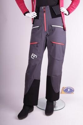 Ortovox 3L Guardian Shell pants Black-Steel W