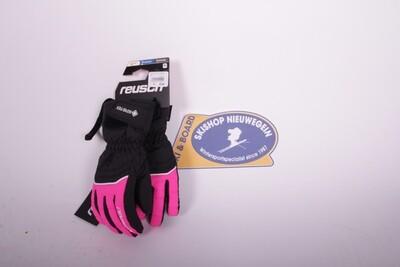 Reusch Tommy GTX Velcro JR roze