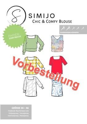 Vorbestellung: Chic & Comfy Blouse - Papierschnittmuster