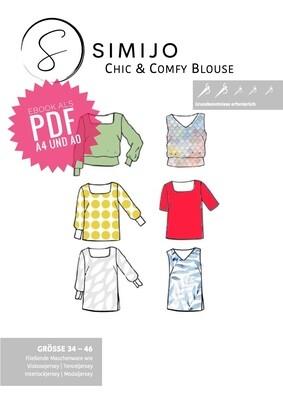 Chic & Comfy Blouse - eBook (PDF A4 und A0 Druck)