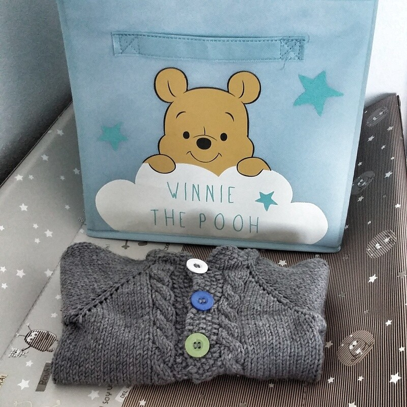 ENG Baby cardigan knitting pattern (12-18 month) ------------------- ITA Modello Cardigan bimbi (12-18 mesi)