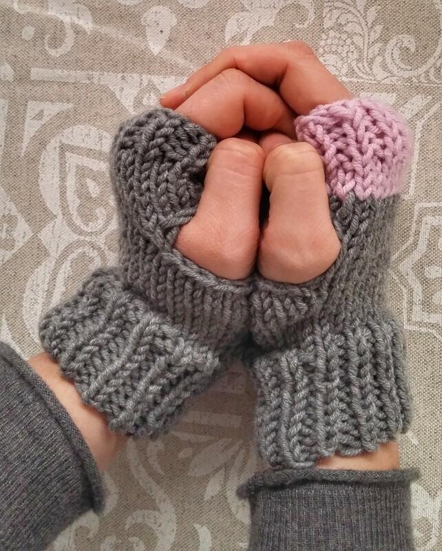 guanti senza dita