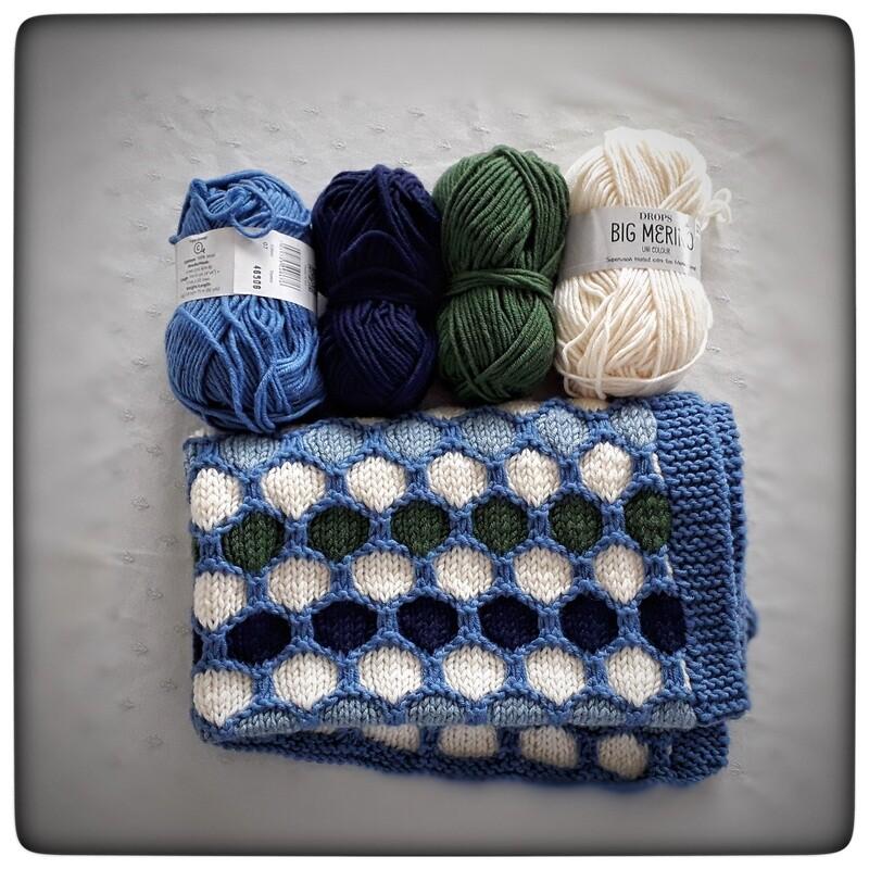 ENG Baby Blanket LUCIO knitting pattern .......... ITA Copertina LUCIO istruzioni maglia