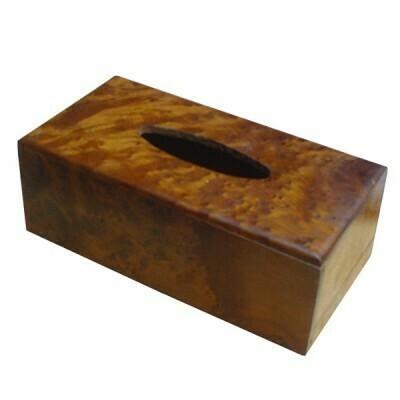 THUYA ROOT TISSUE BOX