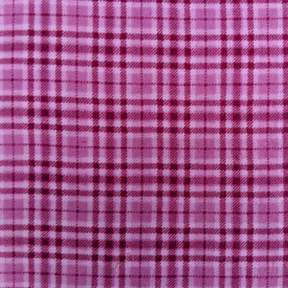 Pink Plaid Flannel
