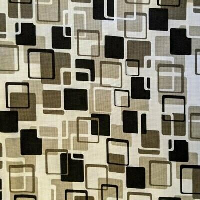 Gray and Black Mod Geometric