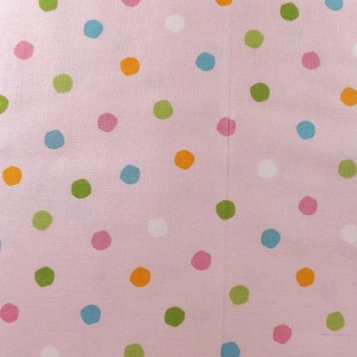 Pale Pink Polka Dots