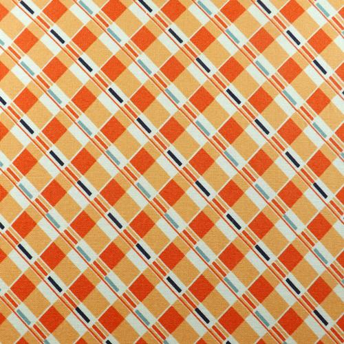 Tangerine Plaid