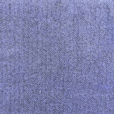 Blue Herringbone Tweed