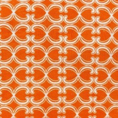 Orange Corduroy