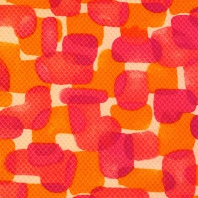 Hot Pink and Orange Squares