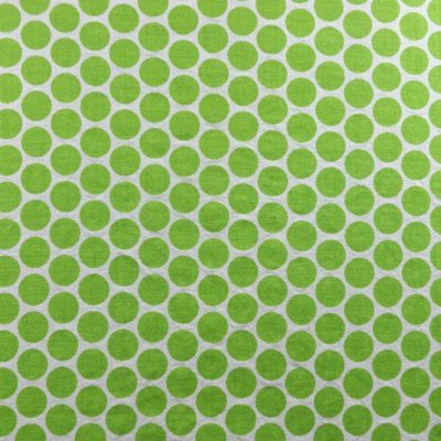 Apple Green Polka Dots