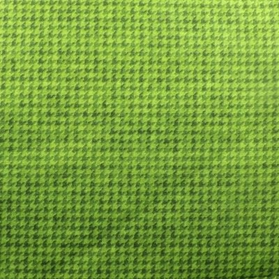 Houndstooth Check Green