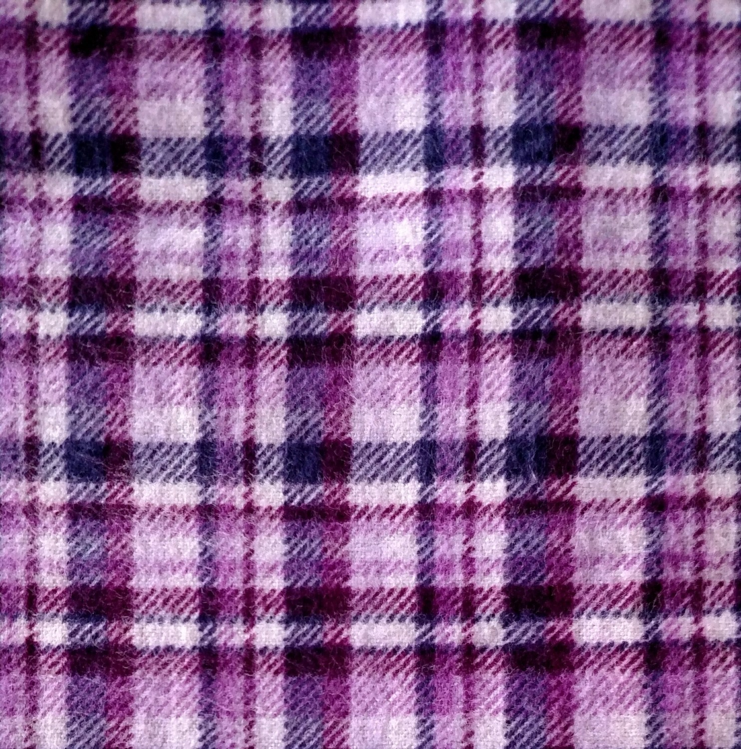 Purple Plaid Flannel