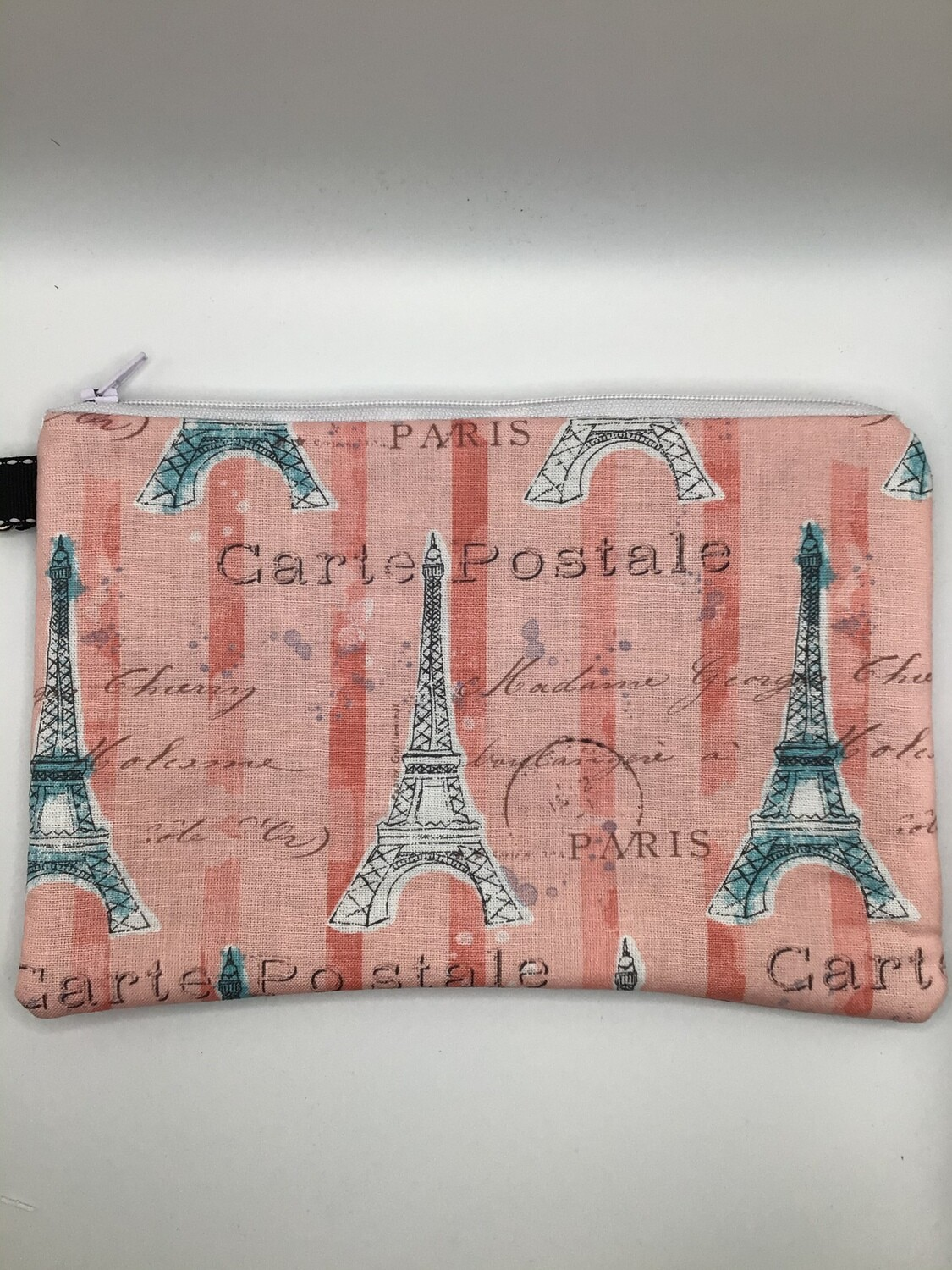 Eiffel Tower Zipper Pouch