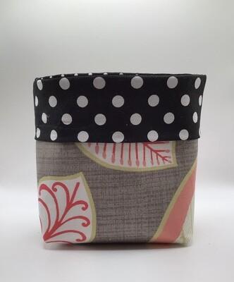 Gray/Blush Med Fabric