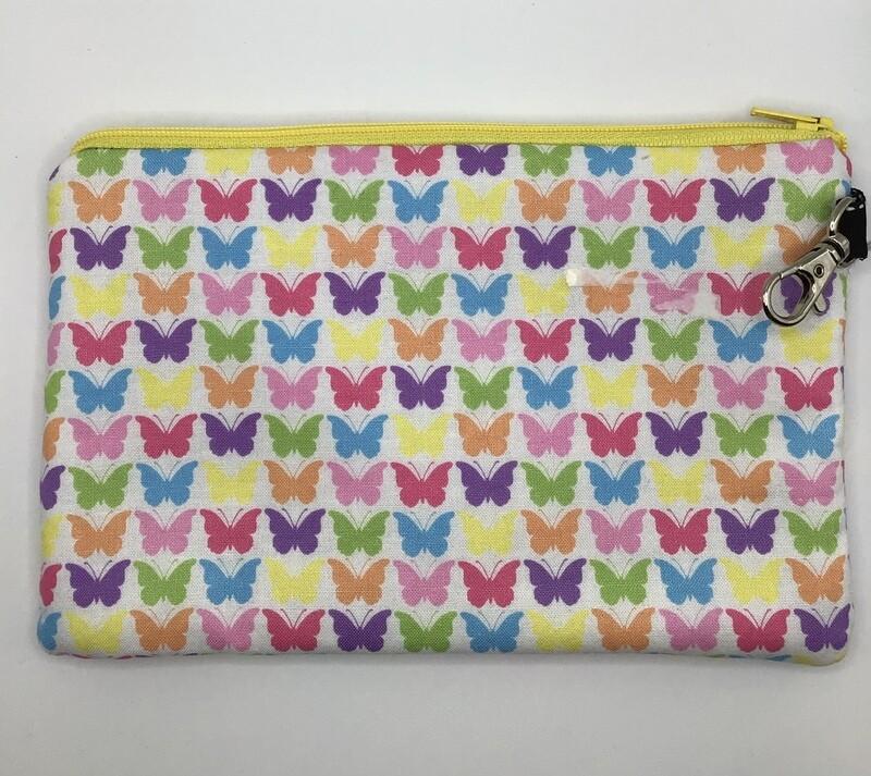 Butterflies  Zipper Pouch