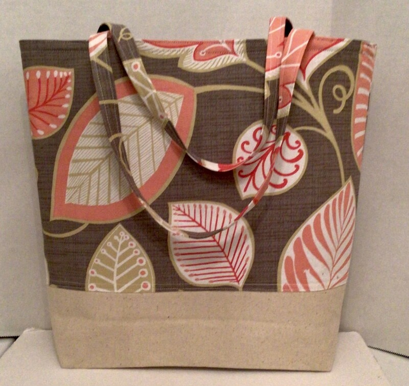 Blush Leaves  Bag