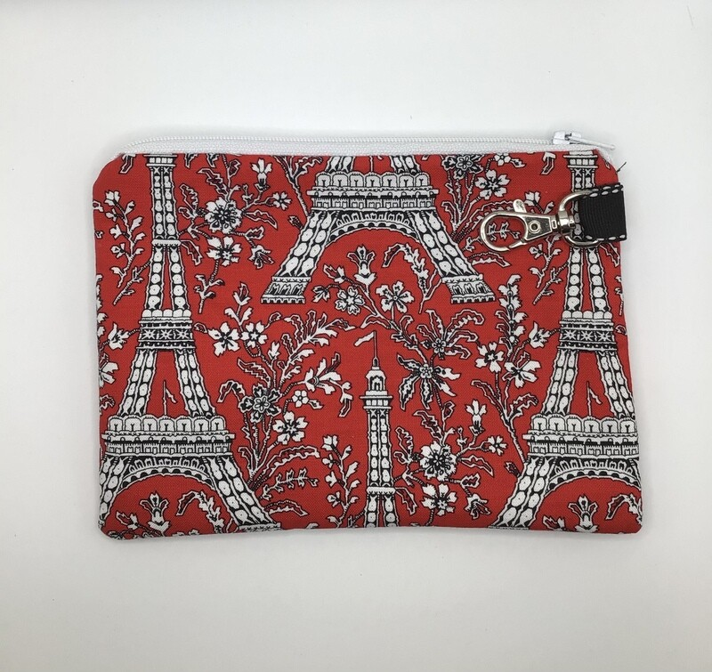 Eiffel Tower  Zipper Pouch