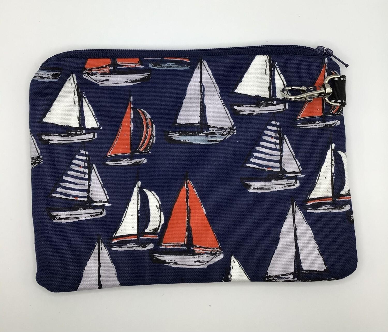 Boats  Zipper Pouch