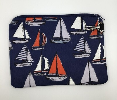 Boats  Zipper Pouch