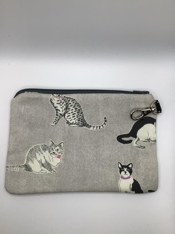 Cats Zipper Pouch