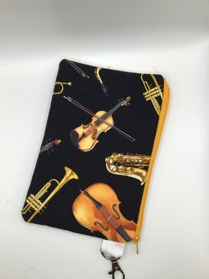 Music Zipper  Pouch