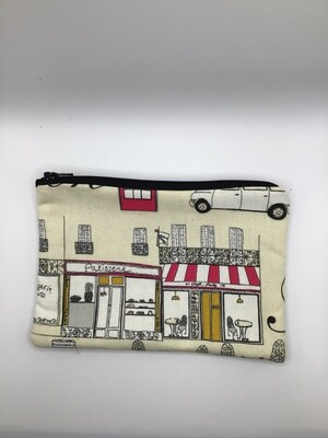 French town Zipper  Pouch