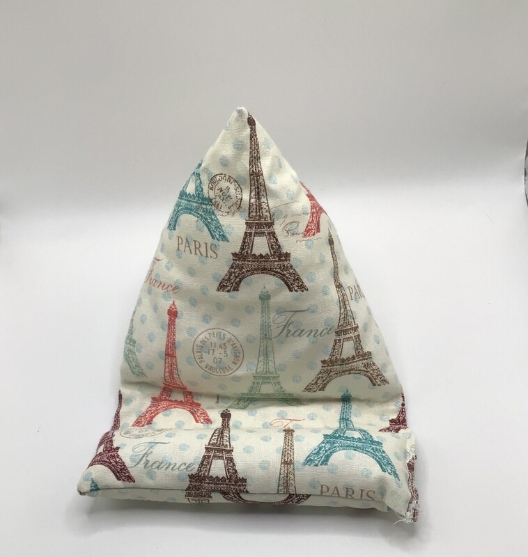 Eiffel Tower Cell Phone Pillow/Holder