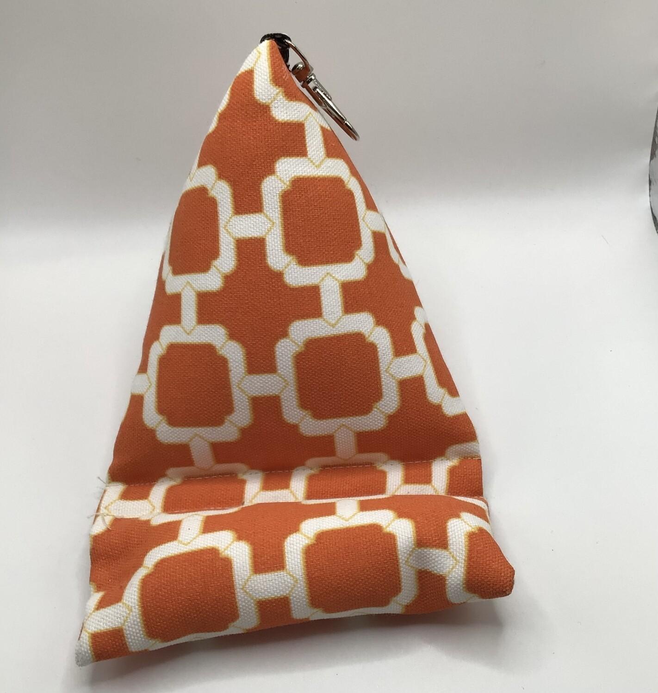 Orange Cell Phone Pillow/Holder