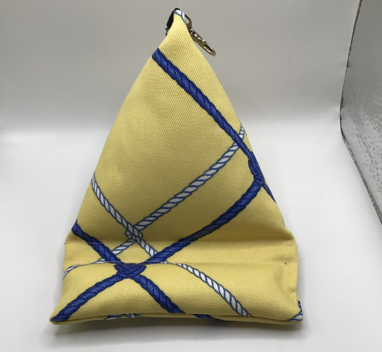 Yellow Cell Phone Pillow/Holder