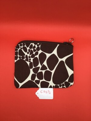 Giraffe zipper wallet