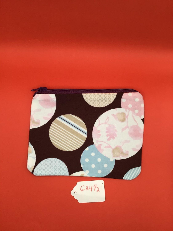 Big Dots zipper wallet