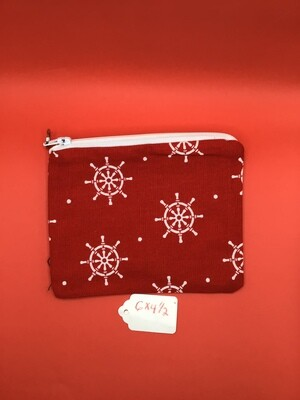 Holidays zipper wallet