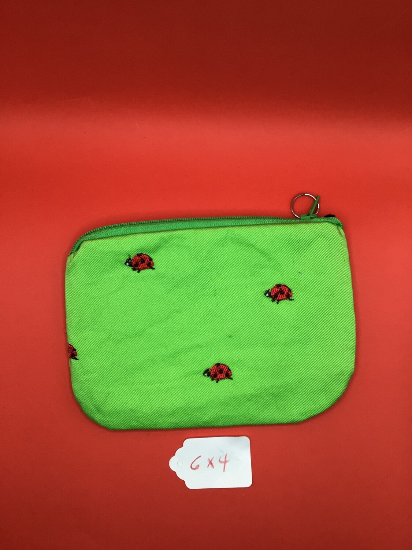Ladybugs zipper wallet