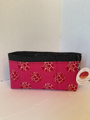 Hot pink Large purse organizer
