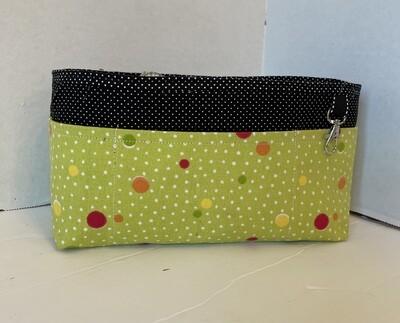Lime Green Large purse organizer