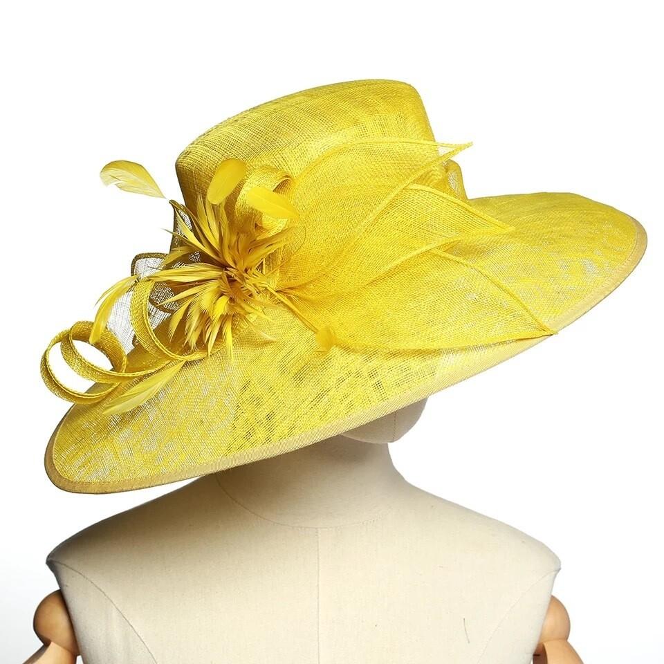 Fancy Sinamay hats