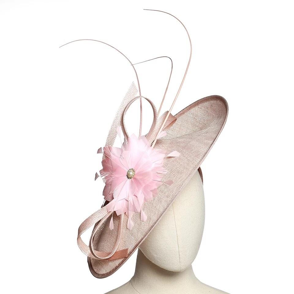 Blush Women fascinator hats