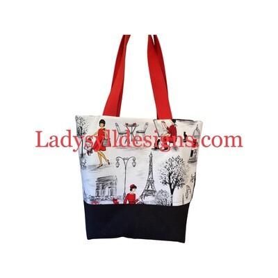 Ladies In Paris in Red