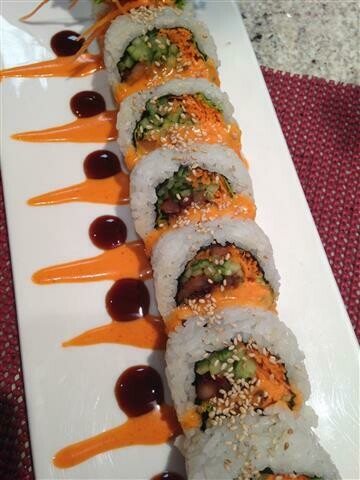 Spicy Chicken Bulgogi Roll