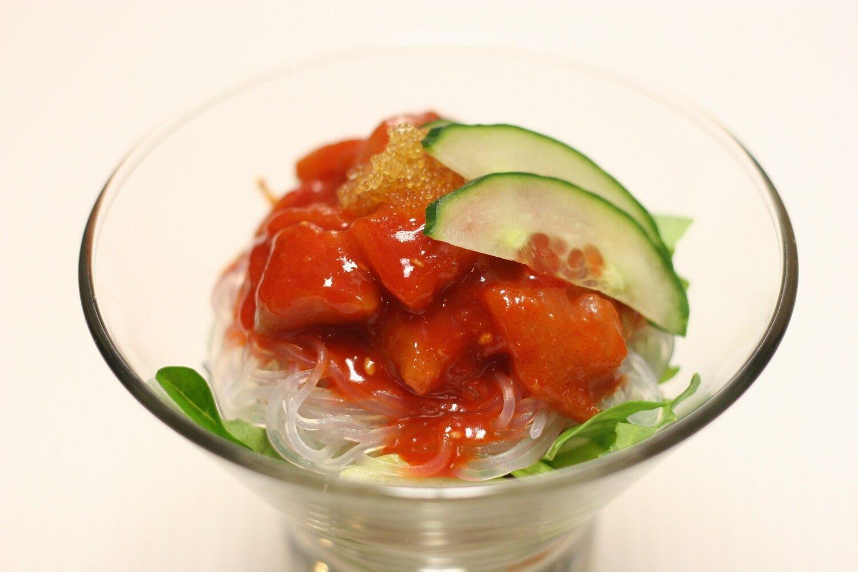 Chilli Salmon Cocktail