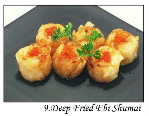 Deep Fried Ebi Shumai