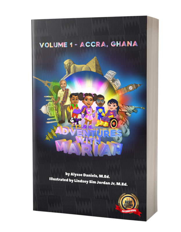 Adventures With Mariah! Volume I - Accra, Ghana - Paperback *Special pricing for Black History Month