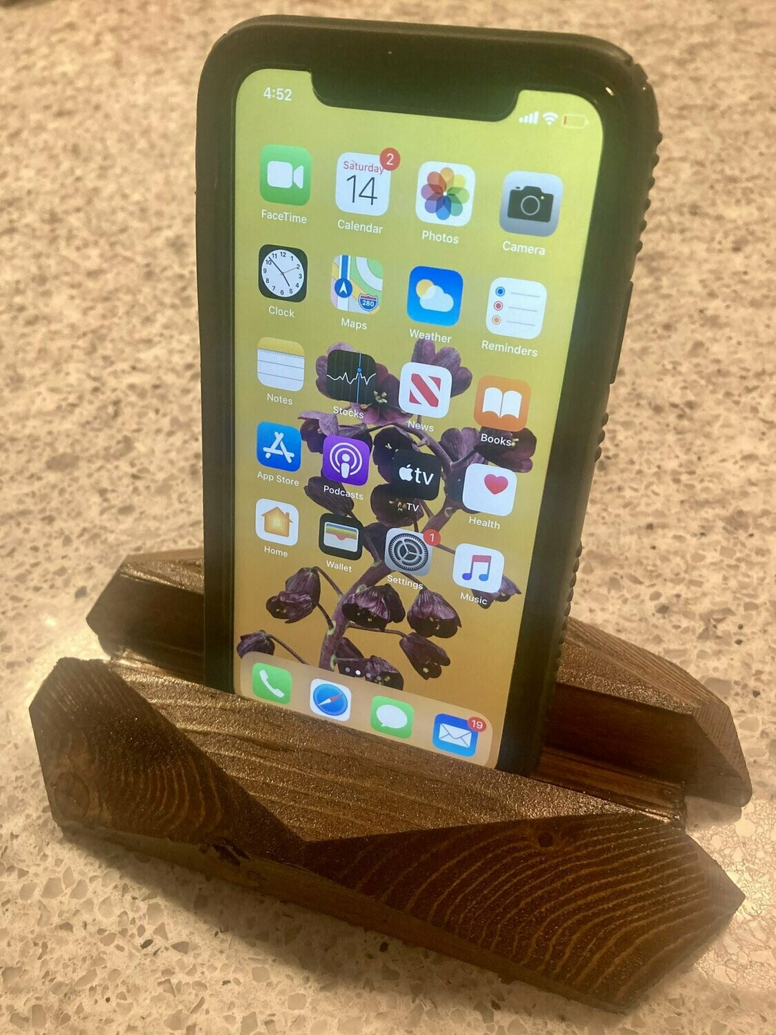 Wooden Phone Holder/ stand for tablet,  laptop