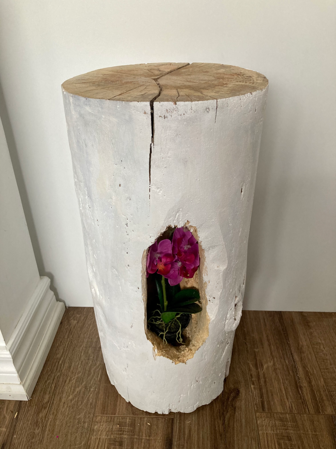 Tree Stump stand or table